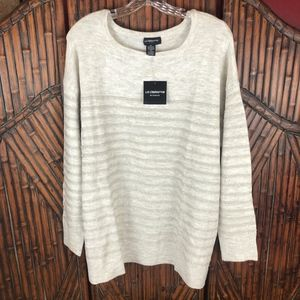 NWT LIZ CLAIBORNE WOMAN Sequin Pullover Sweater